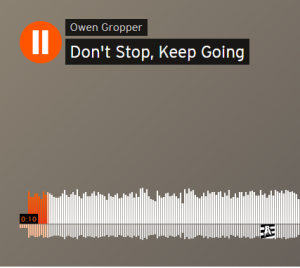 Don't Stop, Keep Going